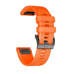 TECH-PROTECT SMOOTH GARMIN FENIX 3/5X/3HR/5X PLUS (26MM) ORANGE