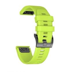 TECH-PROTECT SMOOTH GARMIN FENIX 3/5X/3HR/5X PLUS (26MM) GREEN