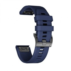 TECH-PROTECT SMOOTH GARMIN FENIX 3/5X/3HR/5X PLUS (26MM) NAVY BLUE