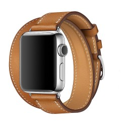 TECH-PROTECT LONGHERMS APPLE WATCH 1/2/3/4 (38/40MM) BROWN