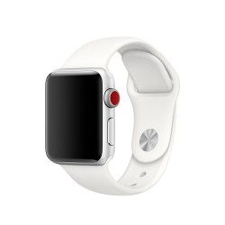 TECH-PROTECT SMOOTHBAND APPLE WATCH 1/2/3/4 (38/40MM) WHITE
